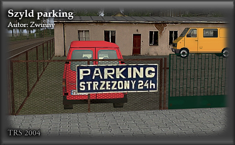 Szyld parking